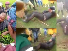 Kenyan man beaten up