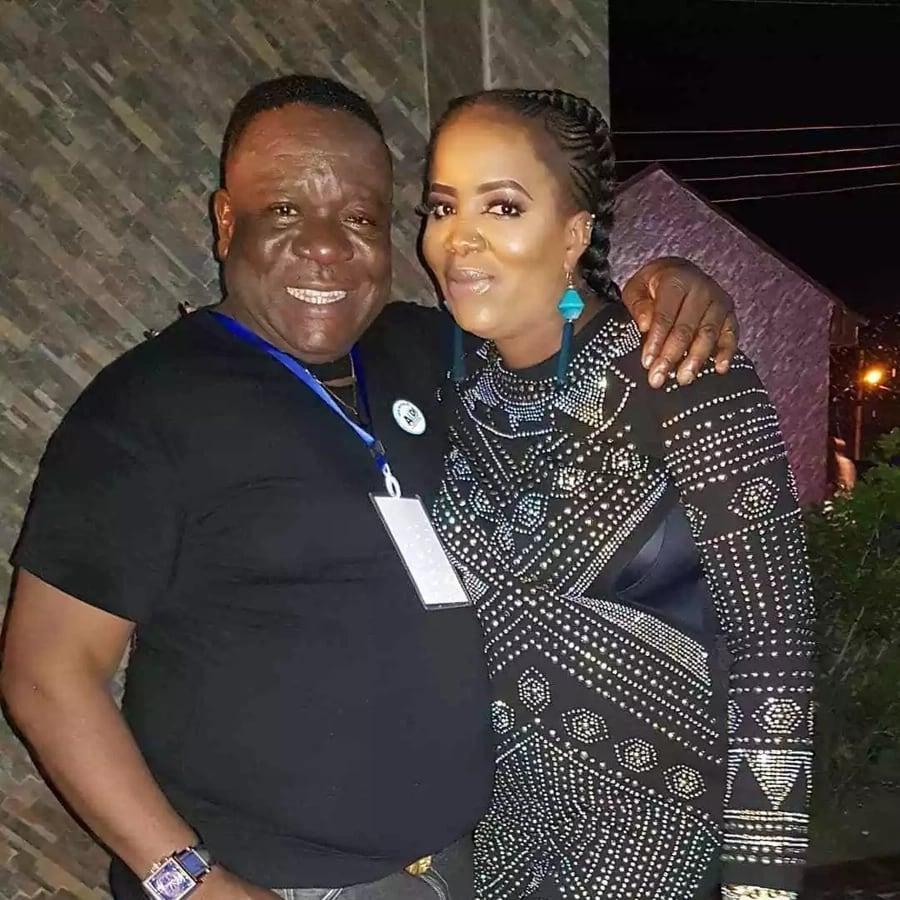 Actor, Mr Ibu and wife celebrate