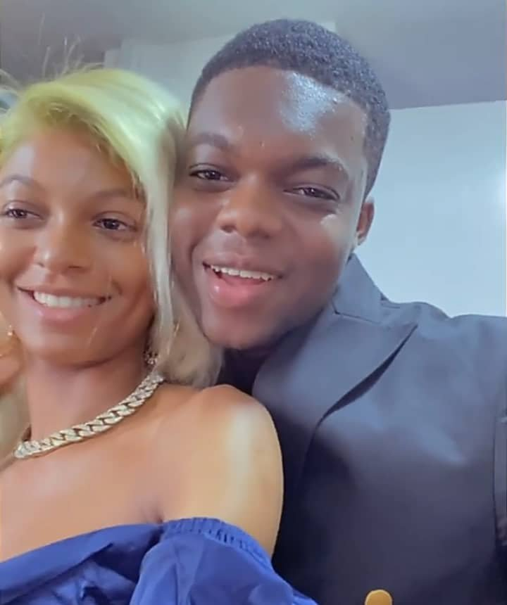 """Congratulations to you, BRO"""" – Adeherself congratulates Comedian 'Cute Abiola as he secretly ties the knot with Original lover"""