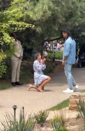 Lady proposes
