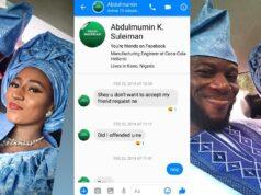 Nigerian man marries lady