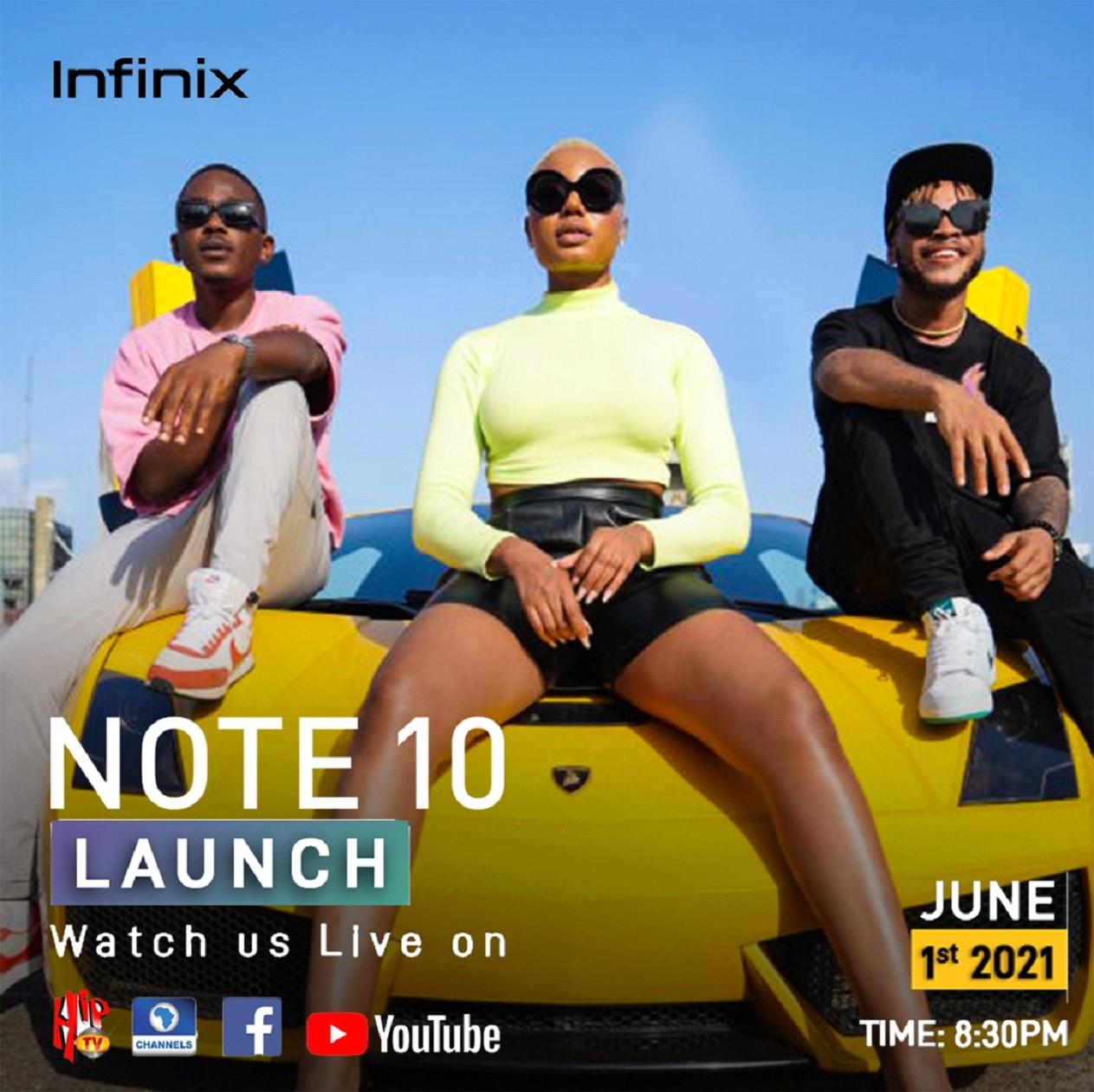 Infinix Note 10 launch