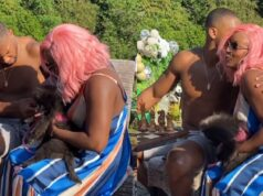 new video of DJ Cuppy and Anthony Joshua
