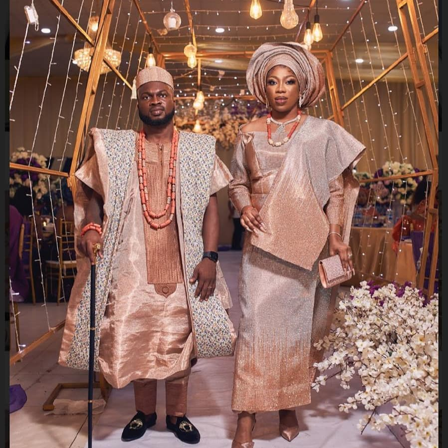 Photos/video from Bolanle and Lincon lavish wedding party 6 months ago