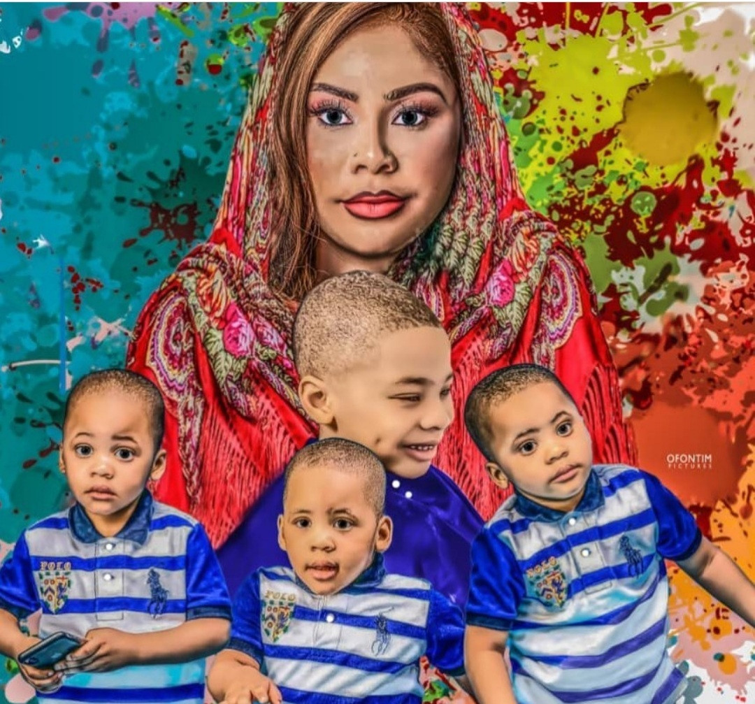 Precious Chikwendu replies follower who asked her to apologize to her ex-husband so she can see her sons again