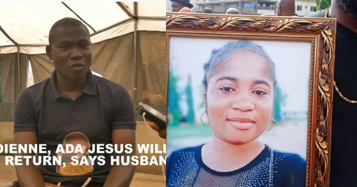 """Ada Jesus is not dead, she will come back alive after 3 years"""" – Husband ( video) - YabaLeftOnline"""
